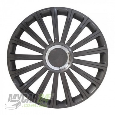 4 RACING Radical Pro Black Колпаки для колес R16 (Комплект 4 шт.)