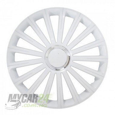 4 RACING Radical Pro White Колпаки для колес R13 (Комплект 4 шт.)