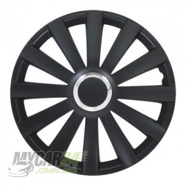 4 RACING Spyder Pro black Колпаки для колес R14 (Комплект 4 шт.)