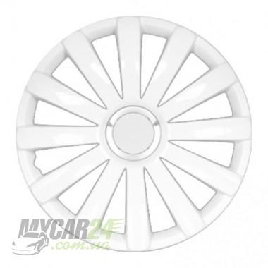 4 RACING Spyder Pro white Колпаки для колес R16 (Комплект 4 шт.)