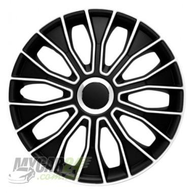 4 RACING Voltec Black&White Колпаки для колес R13 (Комплект 4 шт.)