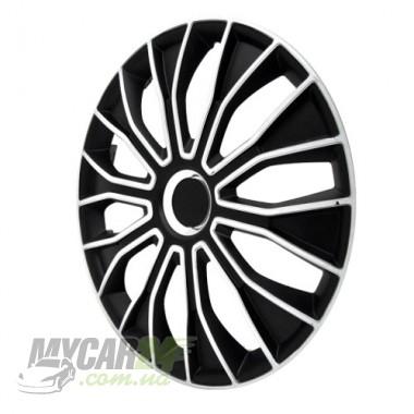4 RACING Voltec Black&White Колпаки для колес R14 (Комплект 4 шт.)