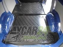 L.Locker Коврики в багажник Volkswagen Transporter IV задняя часть (90-) - пластик