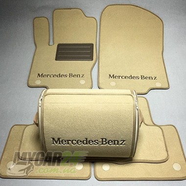 Vip tuning Ворсовые коврики в салон Mercedes W166/X166 ML/GL 320/350/500/6,3AMG-2011-2012р> (2ряда)