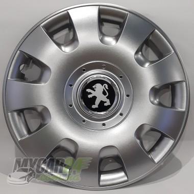 SKS 304 Колпаки для колес на Peugeot R15 (Комплект 4 шт.)