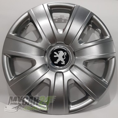 SKS 325 Колпаки для колес на Peugeot R15 (Комплект 4 шт.)