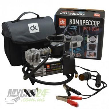 ДК Компрессор, 12V, 10Атм, 38л/мин, автостоп, прикуриватель+клеммы
