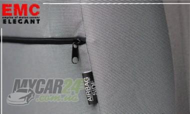EMC-Elegant Авточехлы на сиденья Fiat Doblo (1+1)